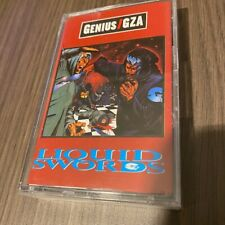 rare GZA tape! ★ LIQUID SWORDS Raekwon Wu-Tang Clan Wu-Fam Sunz of Man RZA ODB