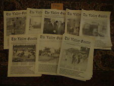 The Valley Gazette 1990 8 Issues Mauch Chunk Lansford Pennsylvania History
