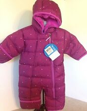 NEW Columbia 3-6M Purple Frosty Freeze Bunting Snowsuit Water Resist MSRP $100