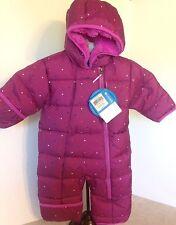 NEW Columbia 3-6M Purple Frosty Freeze Bunting Snowsuit Water Resist MSRP $100