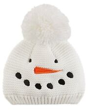 Carters 0-3 Months Knit SNOWMAN Hat Baby Boy Girl CHRISTMAS Holiday WINTER NWOT