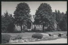 RP POSTCARD CRYSTAL LAKE ILLINOIS AREA GOLF COURSE COUNTRY CLUB HOUSE 1930's
