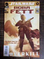 Star Wars Boba Fett Overkill. Dark Horse 2006 Adam Hughes Cover Mandelorian