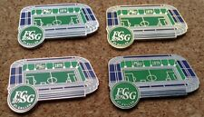 Set of 4 FC St. Gallen - Kybun Park Stadium Pins/Badges