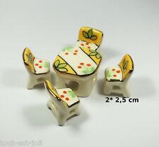 salon en porcelaine pour vitrine, collection, décoration, miniature  **S11-04