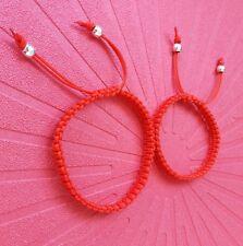 Lote de 5 pulseras rojas(la quinta es GRATIS) suerte y mal de ojo NUEVAS