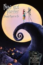 NIGHTMARE BEFORE CHRISTMAS NOW & FOREVER POSTER (87x57cm)  NEW WALL ART