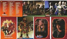 1998 Inkworks Small Soldiers Trading cards: 90 Card Base Set &9 Tattoo Card Set