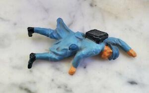 Unfinished WW1 Dead French soldier 10.5cm lead figure Alte Deutsche Spielfiguren