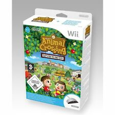 Animal Crossing Wii Speak Bundle Wii PAL *BRAND NEW!!*