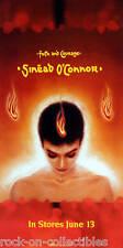 Sinead O'Connor 2000 Faith And Courage Original Orange Promo Poster