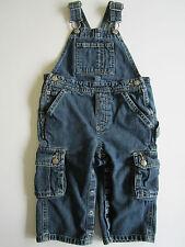 Old Navy [ 18-24mo ] Denim Overall Cargo Blue Jeans Boys Girls Jumper Child Kid