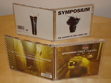 Symposium 2xCD Singles EPs, Killing Position, The Answer To Why I Hate You CDROM