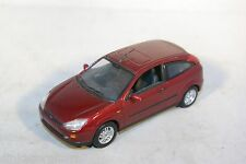 MINICHAMPS FORD FOCUS HATCHBACK 1998 MAROON MINT COND.
