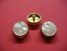 New Brass Sousaphone/Tuba/Sousa Finger Buttons, Olds & King, Set of 3, w/Felts!