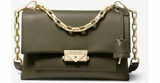 Micheal Kors Cece Large Chain Shoulder Bag (Olive Green)