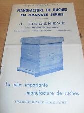 catalogue d'apiculture abeilles miel ruches ( ref 6 )