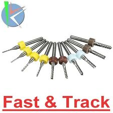Frese 10pcs 1/1.5/2/2.5/3mm Carbide End Mill Cutter PCB Drill Bits corn CNC