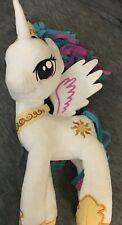 "My Little Pony 17"" Plush Princess Celestia Hasbro 2013 Unicorn Pegasus Winged"