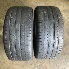 275/40R19 - 2 used tyres PIRELLI P ZERO : $120.00