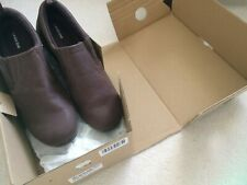 New Lands End Leather Comfort Shoes Size 9