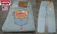 NEW VINTAGE 1993 ORIGINAL LEVI'S 501 RED TAB DENIM JEANS USA RARE 32x36