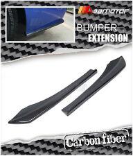 Carbon Fiber M Tech Rear Bumper Side Extensions Set for BMW F30 3-Series M Sport