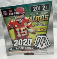 2020 Panini Mosaic NFL Football Sealed Mega Box Factory Sealed