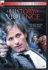 A HISTORY OF VIOLENCE ~ Viggo Mortensen Maria Bello ~ Brand-New Never-Played DVD