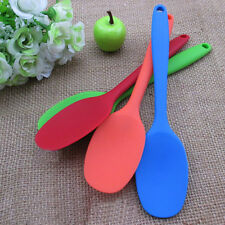 Cuillère de cuisine Silicone portable couleurs ustensiles de table sécurité chic