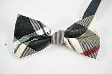 Mens PVC Faux Leather Fashion Multi Color Shining Bow Tie Bowties Wedding Party