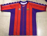 Vtg FC Barcelona Jersey 1998 Sz XL Shirt Football Soccer Mens Camiseta Kappa