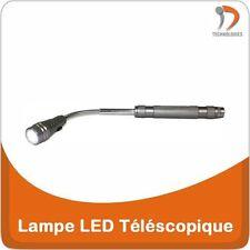 Lampe Torche LED Téléscopique Telescopische LED-lamp Telescopic LED Lamp Grise
