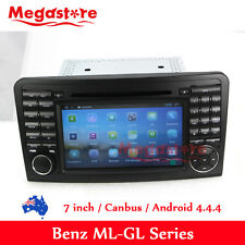 "7"" Android 7.1 Car Car Dvd Gps for Mercedes Benz Ml Gl Class Ml350 Ml320"