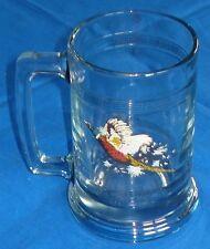 New Princess House Crystal Pheasant Mug Stein Glass - Game Bird Collection 689