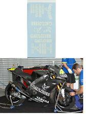 1/12 Valentino Rossi Logo gauloises Yamaha M1  2005 decals tamiya  & minichamps