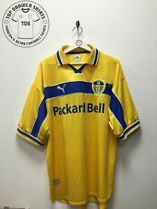 Leeds United third 3rd football shirt 1999/2000 Men's Extra Large XL