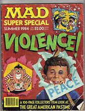 Mad Summer 1984 Mad Cool Mad Violence! Super Special Ungraded Humor Uncertified