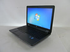"""HP ZBOOK 15 15.6"""" Mobile Workstation [L6L18UP#ABA] 2.90GHz i7-4910MQ 16GB 256GB"""