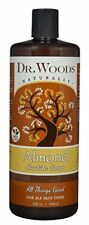 Dr. Woods Pure Almond Castile Soap All Natural Gentle Cleanser 32oz