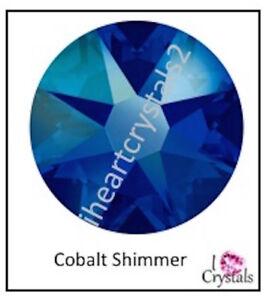 COBALT SHIMMER Blue 20ss 5mm Swarovski Flatback Rhinestones 12 36 72 144 1440