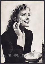 ATTRICE NON IDENTIFICATA 16 ACTRESS CINEMA Cartolina FOTOGRAFICA viaggiata 1962