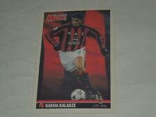 MILAN CALCIO-CARTOLINA FORZA MILAN 2003/2004 CALCIATORE KAKHA KALADZE CM. 10X15