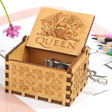 Bohemian Rhapsody Hand Cranked Music Box Wooden Music Toys Birthday Gifts Decor