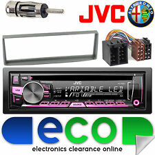 Alfa Romeo GTV 2003-2006 JVC CD MP3 Usb Aux Ipod Coche Radio Stereo Kit 24AR08