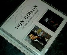 Don Gibson. Two Original Albums On One CD. 36 Country Classics.