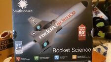 Smithsonian ROCKET SCIENCE Kit~Build & Launch A Rocket~Reusable. New no tags