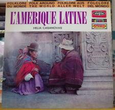 HELIA CASANOVAS L'AMERIQUE LATINE FRENCH LP VOGUE 1968