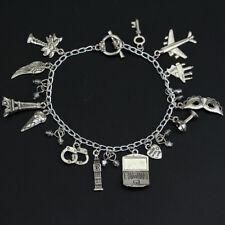 50 Fifty Shades of Grey  Charm Bracelet Charms Antique Silver Alloy Jewelry