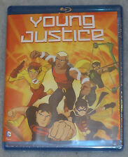 Young Justice - Complete Season 1 One - Blu-Ray Box Set NEW SEALED